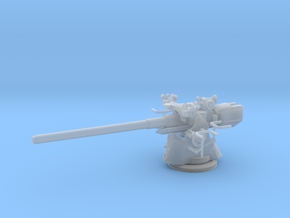 1/45 Uboot 10.5cm/45 Deck Gun in Smooth Fine Detail Plastic