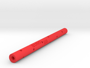 Adapter: Euro RB to Uni UMR-109 (Adjustable Length in Red Processed Versatile Plastic