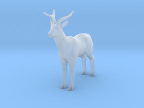 Deer Buck in Smooth Fine Detail Plastic: 1:64 - S