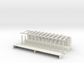 BELOW GRADE STA HO beams in White Natural Versatile Plastic