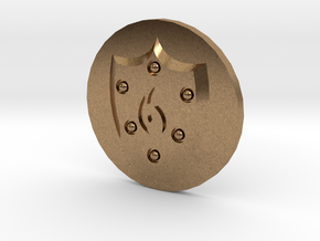 Pyre Coin Ember Bronze in Raw Brass