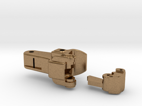 Coupler in Natural Brass