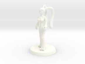 Chaos Daemon - Nurgle Plaguebearer 1/Slime Girl 1 in White Processed Versatile Plastic