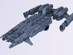 HOMEFLEET Mothership in Smooth Fine Detail Plastic