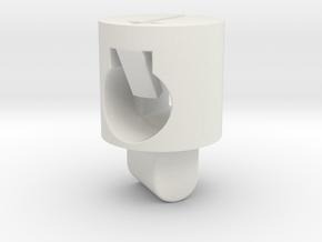 Tippmann M4 V1 Hop Up Nub - Enhanced regular in White Natural Versatile Plastic