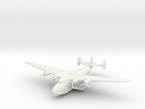 Boeing B-314 Flying Boat in White Natural Versatile Plastic: 1:288