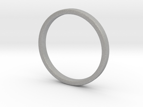 Simple wedding ring 2x1.1mm in Aluminum: 5 / 49