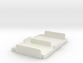 9-1-17-CAPSEN-BASE in White Natural Versatile Plastic