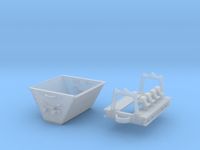 Decauville skip in Smooth Fine Detail Plastic: 1:45