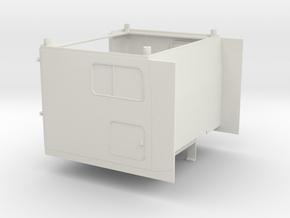 1/14 Peterbilt 379 Sleeper cab  in White Natural Versatile Plastic