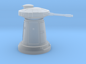 SNOW TURRET 1/144 in Smooth Fine Detail Plastic