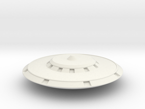 Saucer Series 1997 in White Natural Versatile Plastic