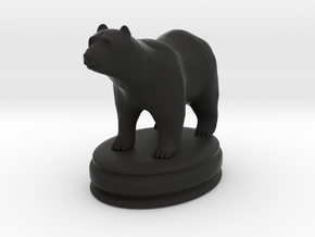 got dire bear rook in Black Natural Versatile Plastic