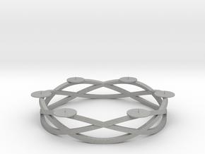 Circular candelabrum in Aluminum