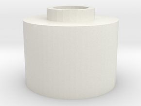 G&G GR25 Hopup spacer for m4 unit in White Natural Versatile Plastic