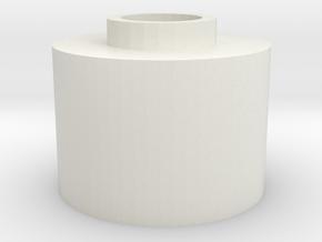 G&G GR25 Hopup spacer for m4 unit in White Natural Versatile Plastic