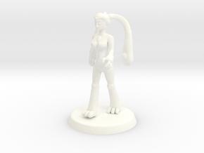 Chaos Daemon - Nurgle Plaguebearer 2/Slime Girl 2 in White Processed Versatile Plastic