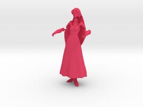 1/20 Micronized Milia Wedding Dress in 5 Parts in Pink Processed Versatile Plastic