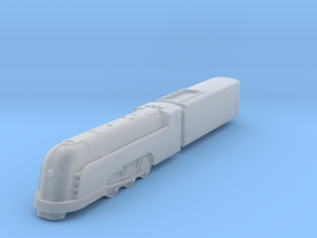 Mercury Locomotive in Smoothest Fine Detail Plastic