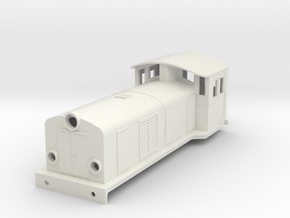 Swedish SJ electric locomotive type Ua - H0-scale in White Natural Versatile Plastic