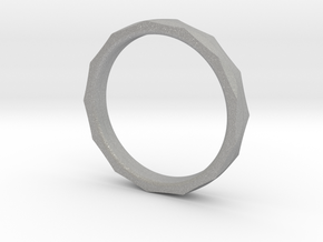 Engineers Ring Size 8.5 in Aluminum