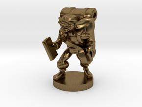Goblin Book Merchant in Natural Bronze