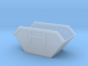1/87 Container1_10 in Smooth Fine Detail Plastic