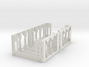DiceMasters storage tower - DIY assembly in White Natural Versatile Plastic
