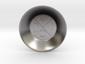 Seal of Venus Charging Bowl (small) in Polished Nickel Steel