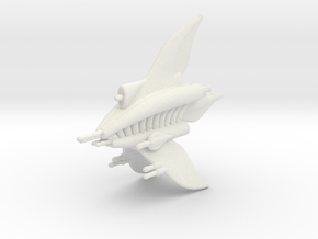 MF Ashinta Heavy Escort Frigate Full Thrust Scale in White Natural Versatile Plastic