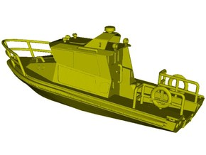 1/200 scale US Coast Guard river patrol boat x 1 in Smooth Fine Detail Plastic