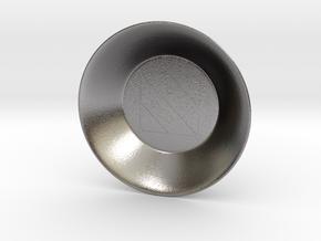Seal of Mercury Charging Bowl (small) in Polished Nickel Steel