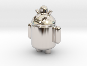 android robot in Platinum