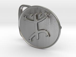 Coqui Belt Buckle in Natural Silver
