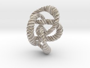 Knot 8₂₀ (Rope with detail)  in Platinum: Extra Small