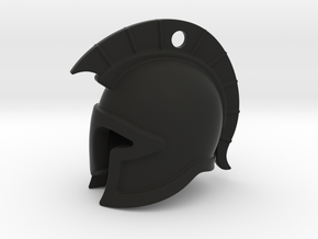 spartan helmet in Black Natural Versatile Plastic