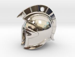 spartan helmet in Platinum