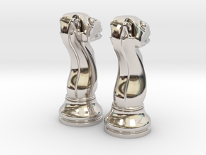 Pair Chess Camel Big / Timur Jamal  in Platinum
