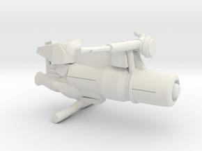 Civilian Jet Bike Model 4A in White Natural Versatile Plastic