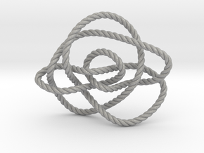 Ochiai unknot (Rope) in Aluminum: Extra Small
