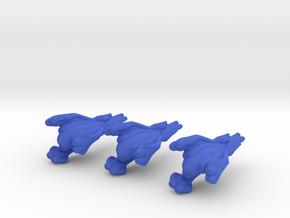 MF Nial 3 Fighter-Wing Pack WSF in Blue Processed Versatile Plastic