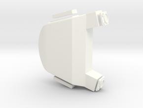 1.8 CONTRE MESURES TIGRE in White Processed Versatile Plastic
