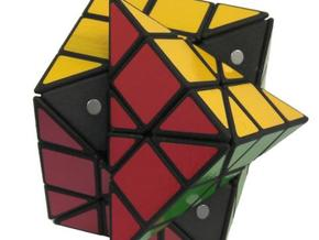 Dino 3x3x3 Cube in White Strong & Flexible