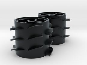 Grass Silage Spreader - Rotor 1/32 in Black Hi-Def Acrylate