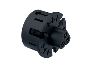 "BLADE MT30 Connector Holder 7/8"" V1 in Black Natural Versatile Plastic"