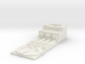 Deathstar Trench Port - Scenerio Objective  in White Natural Versatile Plastic