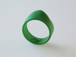 Climax Ring in Green Processed Versatile Plastic: 8.5 / 58