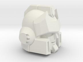 Signal Processor's Head Deluxe in White Natural Versatile Plastic