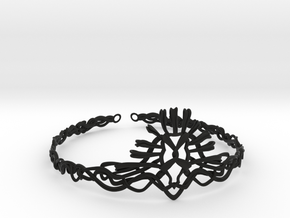 Cersei's Crown in Black Natural Versatile Plastic