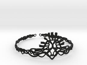 Cersei's Crown in Black Natural Versatile Plastic